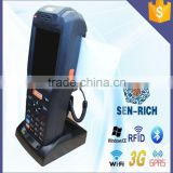 WinCE Handheld PDA with Mobile Printer for Ticket Printing and Barcode Scanner