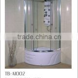 TB-A1002 bathroom shower cabin ,shower Enclosure,pulley wheel sliding door tempered glass shower room