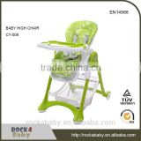 Trade Assurance restaurant infant feeding safe eating free baby high chair