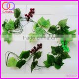 decoration artificial grape leaves