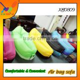 Fast Inflatable Beach Air Bag Sofa Bed Banana Sleeping Bag Lounge Lounger Portable Outdoor Inflatable Sofa Air Bed
