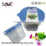 1500ML large capacity food storage containers portable take away bento box plastic disposable bowl SV-6074