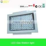 Explosion proof led canopy light, led canopy light led petrol station light, square led recessed gas station canopy light