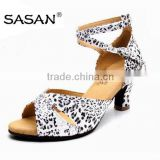 Leopard Lady Latin Dance Shoes Salsa Shoes Wedding Shoe C102
