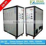 Oxygen source fish farming equipment ozone generator for recirculating aquaculture system