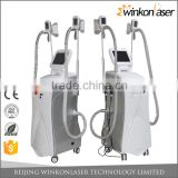 Body Shaping Up To Date Three Technologies Cryolipolysis Slimming Machine Fat Freeze Machine For Double Chin Increasing Muscle Tone