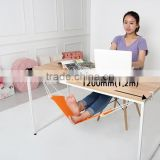 Portable Adjustable Mini Office Foot Rest Stand Desk Foot Hammock
