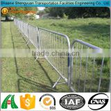 Metal traffic control barrier guardrail rental delineators