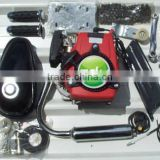 Inquiry about 4 stroke pocket bike/petrol bike engine/49CC bicycle engine kit