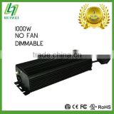 FCC 1000W electronic ballast no cooling fan