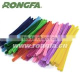 Colorful Normal Wire Chenille Stem Pipe Cleaners