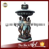 Large Outdoor Bronze Statue Water Fountain