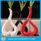 Home Accessories Heart Shaped Vase Decorative Vase For Wedding