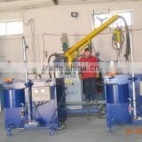 CE certificate cheap half automatic floristic foam machine