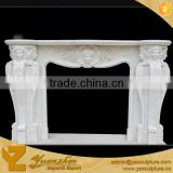 Antique Stone Fireplace Carving for home decoration