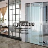 Guangzhou JINXIN 1200mm sliding glass shower doors with toughened safety glass