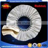 "18"" Cotton Cloth Buffing Wheel Airway Grinding Polishing Abrasive Fabric Disc Sisal Pad stitched Biased Felt"