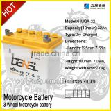 12V LAWN MOWER BATTERIES FOR MOWER IN STORAGE BATTERY