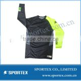 Newest Long Sleeves Sport Compression Shirts, sportex mens athletic shirts, China manufacture fitness wear