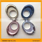 High Quality Oval Plastic Curtain Ring With Round Eyelets For Curtain