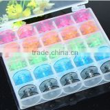Top quality Household Sewing Machine bobbins/Plastic Spools (1box=25pcs)/Singer DIY accessory