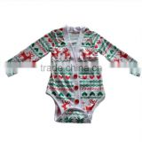 lastest baby girls winter romper long sleeve new born baby clothes knit cotton christmas romper