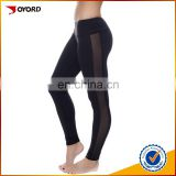 Women Capri Mesh Legging Yoga Running Tight Women SportsWear Active Pants