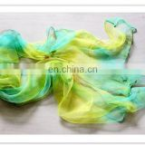 new design very soft ladies' fashion polyester chiffon neckwear