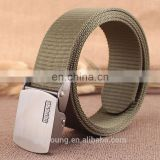 Guangzhou Cotton Canvas Woven Belts For Mans And Womans