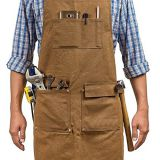 Heavy duty waterproof workshop apron for men and women
