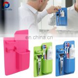 Silicone Toothbrush Holder Bathroom Storage Organizer
