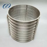 factory direct johnson stainless steel water well screen, v-shape wire screen