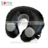 Fashion chair seat soft U shape pillow neck cushion with speaker for household and office