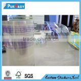 Transparent cear custom hologram decals label sticker for juice                                                                         Quality Choice