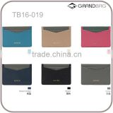New genuine saffiano leather credit card holder customed leather card holder                                                                                                         Supplier's Choice
