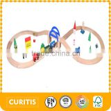 2015 New Product Toys For Children Wooden Railway Rail Toy For Kid                                                                         Quality Choice
