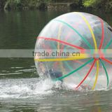 TPU/PVC transparent inflatable water walking ball ,ball shaped water bottle for kids and adults
