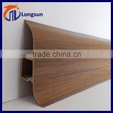 PVC vinyl home decorative plastic skirting board                                                                         Quality Choice