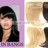 Hair bangs/fringes