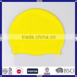 promotional waterproof silicone swimming cap for long hair