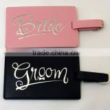 Leather luggage tags wedding favor BEST GIFT IDEA