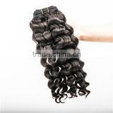 Qingdao factory Mongolian hair virgin jerry curl weave extensions human hair for braiding