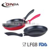 Large aluminium die-cast frying pan/griddle pan