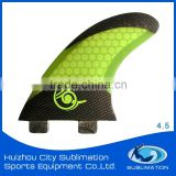 High Maneuverability Fcs/Future Honeycomb 3K, 12K Carbon Fiber Fin, Durable and Economy Fiberglass Epoxy Resin Fin