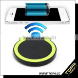 Qi certified universal standard designed wireless mobile phone battery charger For Smart Phones