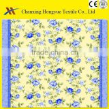 100% polyester pigment printing bed sheet fabric/ Printed Upholstery Fabric/brushed fabric