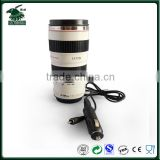 Best sell in America White color electric heated lens mug