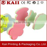 die cut shaped sticky notes, delicate shaped sticky notes, custom shaped sticky notes supplier in China many years