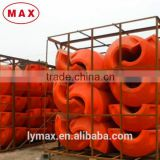 Suction dredging pipe used pontoon floats / marine buoy floater
