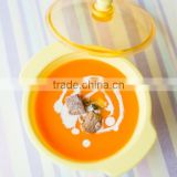 Eco-friendly Baby Feeding Tableware Super Nonslip Soup Bowl made from fermented cornstarch